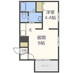 札幌レジデンス知事公館[6階]の間取り