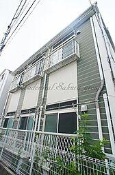 神奈川県横浜市栄区笠間2丁目の賃貸アパートの外観