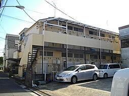 東京都江戸川区西篠崎2丁目の賃貸アパートの外観