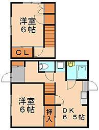野田キ貸家[2階]の間取り