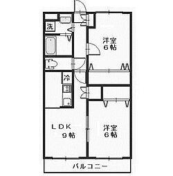 ノーブルマンション相模大野[3階]の間取り