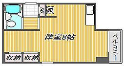 メインステージ江戸川橋[2階]の間取り