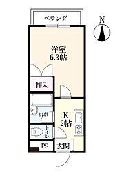 タケダビル1[2階]の間取り