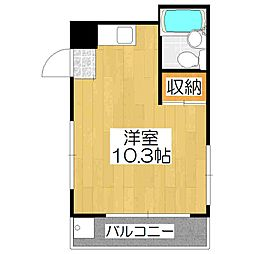 ハウスH&N[102号室]の間取り