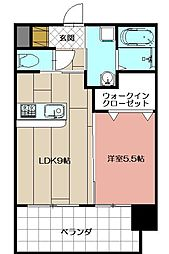 アクシオ小倉[402号室]の間取り