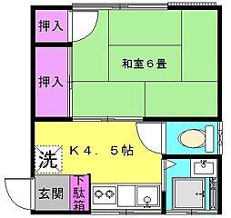 コーポニューゲート[2階]の間取り