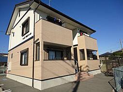 静岡県浜松市浜北区小林の賃貸アパートの外観