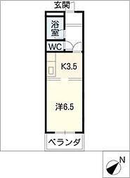 マンションエトワール[2階]の間取り