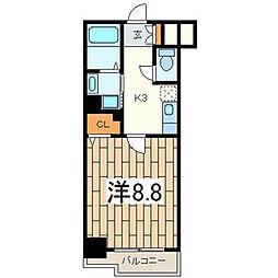 ルミエール横浜 914066[9階]の間取り