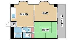 兵庫県神戸市長田区房王寺町7丁目の賃貸マンションの間取り