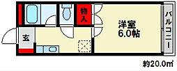 ツインズプラザ[4階]の間取り