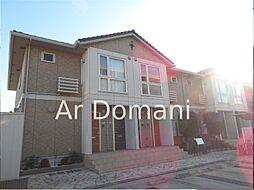 千葉県松戸市二十世紀が丘萩町の賃貸アパートの外観