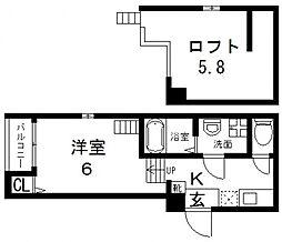 Maison Plum(メゾンプラム)[101号室号室]の間取り