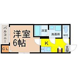 (仮称)千種区大久手町六丁目SKHコーポ[2階]の間取り
