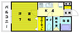 さくら館[2階]の間取り