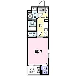 セリシール[2階]の間取り