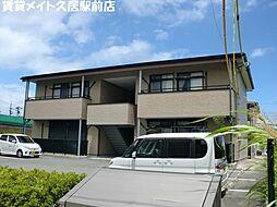 三重県津市高洲町の賃貸アパートの外観
