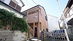 神奈川県川崎市高津区久地4丁目の賃貸アパートの外観