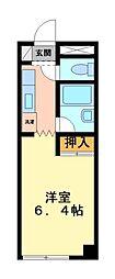 神奈川県川崎市宮前区宮崎1丁目の賃貸マンションの間取り