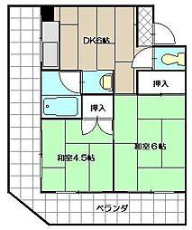 松宮ビル[301号室]の間取り
