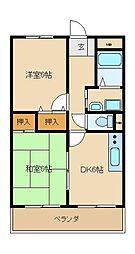 グランメゾン浅田2[2階]の間取り