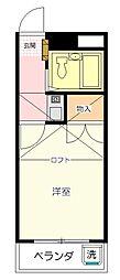 Mプラザ8坂戸[204号室号室]の間取り