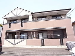 千葉県松戸市根木内の賃貸アパートの外観