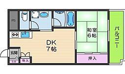 幸田マンション[8階]の間取り