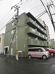 北海道札幌市白石区東札幌六条6の賃貸マンションの外観