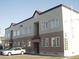北海道札幌市北区屯田五条2丁目の賃貸アパートの外観