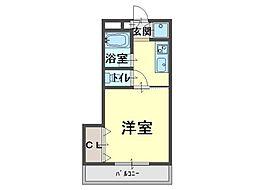 ピュアガーデン[2階]の間取り
