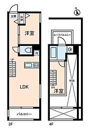 トリニティコート[3階]の間取り