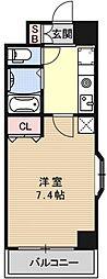 Sakura Residence[405号室号室]の間取り