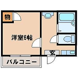 兵庫県神戸市西区水谷3丁目の賃貸マンションの間取り