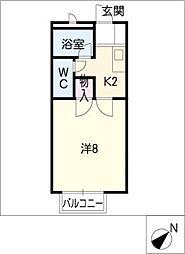 アーバン小島II[2階]の間取り