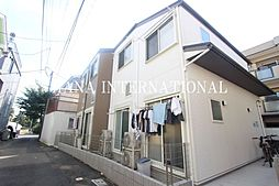 東京都調布市下石原1丁目の賃貸アパートの外観