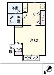 仮)Yマンション[3階]の間取り