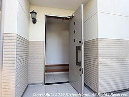 玄関ドア/防犯ダブルロック施錠で安心ライフ