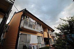 高崎ハイツ D棟[2階]の外観