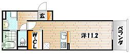 M・K・K北方[1階]の間取り