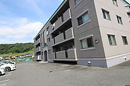 広島県広島市安佐北区三入2丁目の賃貸マンションの外観