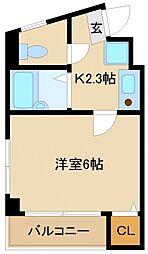 栄興ビル[2階]の間取り