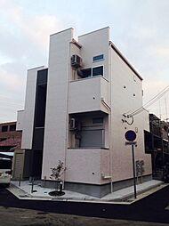 兵庫県尼崎市元浜町2丁目の賃貸アパートの外観