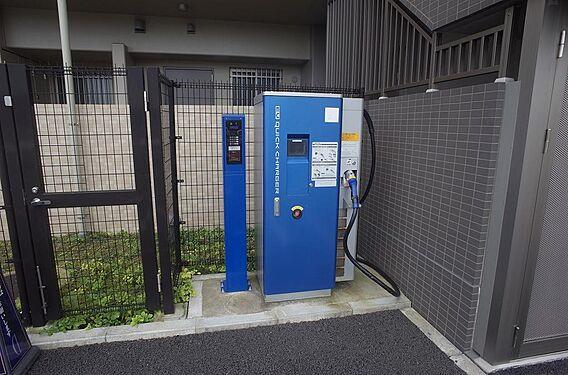 電気自動車充電...