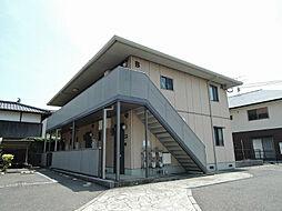 プランドールミニヨンA棟[1階]の外観