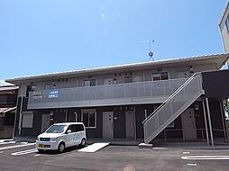 兵庫県加古郡播磨町本荘1丁目の賃貸アパートの外観