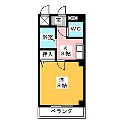 メゾンM[2階]の間取り