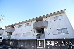 愛知県豊田市明和町3丁目の賃貸アパートの外観