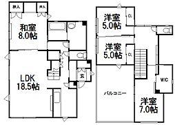 [一戸建] 北海道札幌市西区西町南17丁目 の賃貸【/】の間取り