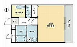 高松琴平電気鉄道長尾線 高田駅 徒歩30分の賃貸アパート 2階1Kの間取り
